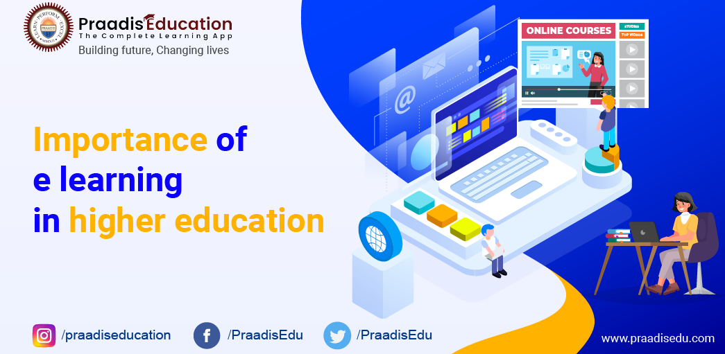 importance of e learning in higher education