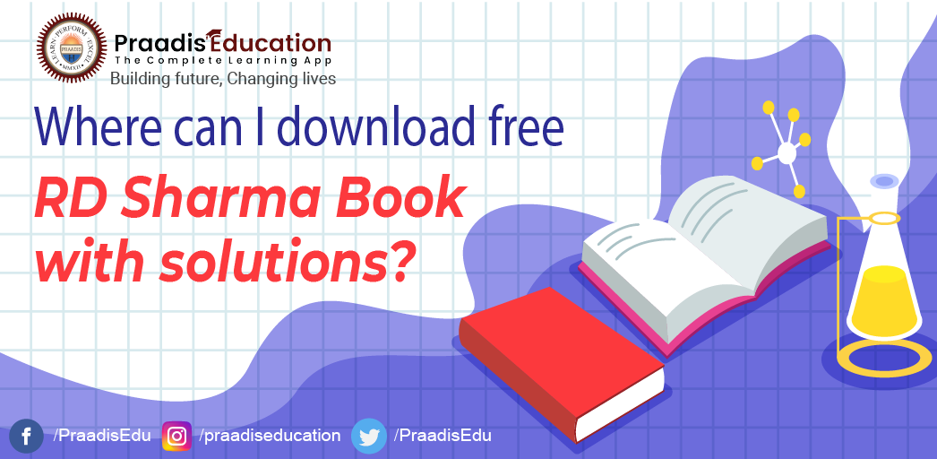 Where can I download free RD Sharma Book Solutions?
